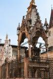 Μεσαιωνικοί τάφοι του mastino ΙΙ και του cansignorio Στοκ Φωτογραφία