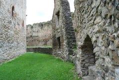 Μεσαιωνικοί τοίχοι φρουρίων Στοκ εικόνα με δικαίωμα ελεύθερης χρήσης