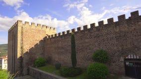 Μεσαιωνικοί τοίχοι Plasencia στην επαρχία Caceres, Ισπανία φιλμ μικρού μήκους