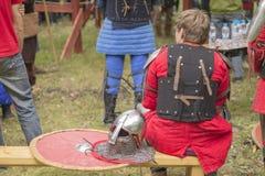 Μεσαιωνικός αγώνας κόμματος Στοκ Εικόνα
