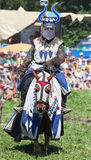 Μεσαιωνικός ιππότης Στοκ φωτογραφία με δικαίωμα ελεύθερης χρήσης