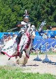 Μεσαιωνικός ιππότης Στοκ Εικόνα