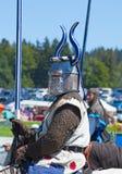 Μεσαιωνικός ιππότης Στοκ Φωτογραφίες
