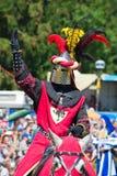 Μεσαιωνικός ιππότης Στοκ Φωτογραφία