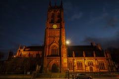 Μεσαιωνικός καθεδρικός ναός μοναστηριακών ναών του Λιντς Μεγάλη Βρετανία στοκ φωτογραφία
