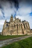 Μεσαιωνικός καθεδρικός ναός του Bayeux της Notre Dame, Νορμανδία, Γαλλία Στοκ Εικόνες