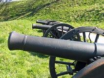 μεσαιωνικός παλαιός πυροβόλων στοκ εικόνες
