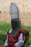 μεσαιωνικός πολεμιστής Στοκ εικόνα με δικαίωμα ελεύθερης χρήσης