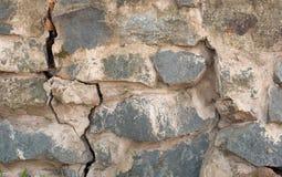 μεσαιωνικός τοίχος πετρώ& Στοκ Εικόνα