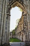 Μεσαιωνικό αβαείο του ST Mary, Ηνωμένο Βασίλειο στοκ εικόνες
