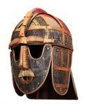 Μεσαιωνικό επικεφαλής κράνος ιπποτών τεθωρακισμένων στοκ φωτογραφία