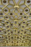 Μεσαιωνικό εσωτερικό του παλατιού Hampton Court, UK στοκ φωτογραφία με δικαίωμα ελεύθερης χρήσης