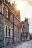 Μεσαιωνικό ιρλανδικό κάστρο Στοκ Εικόνες
