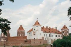 Μεσαιωνικό κάστρο σε Mir, Λευκορωσία Στοκ φωτογραφίες με δικαίωμα ελεύθερης χρήσης