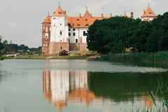 Μεσαιωνικό κάστρο σε Mir, Λευκορωσία Στοκ φωτογραφία με δικαίωμα ελεύθερης χρήσης