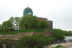 Μεσαιωνικό κάστρο φωτογραφιών Στοκ Εικόνες