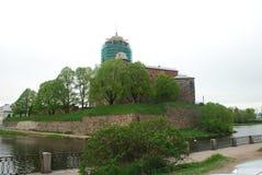 Μεσαιωνικό κάστρο φωτογραφιών Στοκ Φωτογραφίες