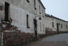 Μεσαιωνικό κάστρο φωτογραφιών Στοκ φωτογραφία με δικαίωμα ελεύθερης χρήσης