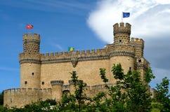 Μεσαιωνικό κάστρο Στοκ εικόνα με δικαίωμα ελεύθερης χρήσης