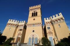 Μεσαιωνικό κάστρο Arenzano Στοκ φωτογραφία με δικαίωμα ελεύθερης χρήσης