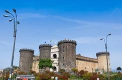 Μεσαιωνικό κάστρο Maschio Angioino ή Castel Nuovo στη Νάπολη, Ι Στοκ φωτογραφίες με δικαίωμα ελεύθερης χρήσης