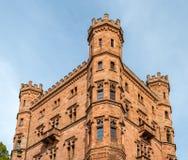 Μεσαιωνικό κάστρο Ortenberg, χτισμένος 11ος sentury Γερμανία, baden-Wu Στοκ Εικόνες