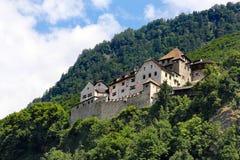 Μεσαιωνικό κάστρο, Vaduz, Λιχτενστάιν Στοκ εικόνες με δικαίωμα ελεύθερης χρήσης
