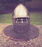 Μεσαιωνικό κράνος στοκ εικόνες με δικαίωμα ελεύθερης χρήσης