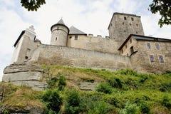 Μεσαιωνικό κόκκαλο κάστρων Στοκ Εικόνα