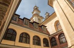 Μεσαιωνικό μοναστήρι Basilian Buchach στη δυτική Ουκρανία, Ternopil Στοκ Εικόνες