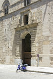 μεσαιωνικό παλάτι Στοκ Φωτογραφία