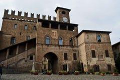 Castell'arquato Στοκ Φωτογραφία