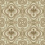μεσαιωνικό πρότυπο Στοκ εικόνα με δικαίωμα ελεύθερης χρήσης