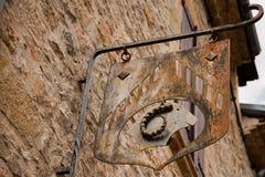 Μεσαιωνικό σημάδι συντεχνιών Στοκ Εικόνες