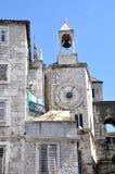 Μεσαιωνικό σπίτι πετρών στη διάσπαση, Κροατία Στοκ εικόνα με δικαίωμα ελεύθερης χρήσης