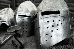 Μεσαιωνικό τεθωρακισμένο Στοκ φωτογραφία με δικαίωμα ελεύθερης χρήσης