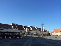 μεσαιωνικό τετράγωνο Στοκ εικόνες με δικαίωμα ελεύθερης χρήσης