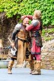 Μεσαιωνικό φεστιβάλ σε Cochem Castle Στοκ φωτογραφία με δικαίωμα ελεύθερης χρήσης