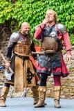 Μεσαιωνικό φεστιβάλ σε Cochem Castle Στοκ φωτογραφίες με δικαίωμα ελεύθερης χρήσης