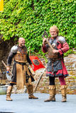 Μεσαιωνικό φεστιβάλ σε Cochem Castle Στοκ Φωτογραφία