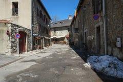 Μεσαιωνικό φρούριο σε Mont Louis, Γαλλία στοκ φωτογραφίες