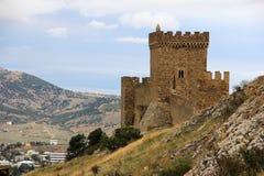 Μεσαιωνικό φρούριο στην Κριμαία στοκ φωτογραφία