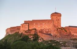 Μεσαιωνικό φρούριο Lourdes Στοκ εικόνες με δικαίωμα ελεύθερης χρήσης
