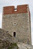 Μεσαιωνικό φρούριο Medvedgrad κοντά στο Ζάγκρεμπ Στοκ εικόνα με δικαίωμα ελεύθερης χρήσης