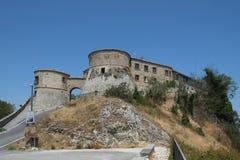 Μεσαιωνικό φρούριο Scorticata κοντά σε Torriana, Ιταλία στοκ εικόνα με δικαίωμα ελεύθερης χρήσης