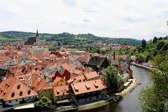 Μεσαιωνικό χωριό Czecky Στοκ εικόνα με δικαίωμα ελεύθερης χρήσης