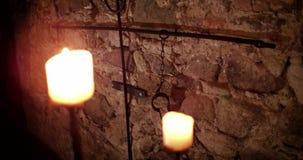 Μεσαιωνικό όργανο για τους φυλακισμένους απόθεμα βίντεο