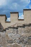 Μεσαιωνικό battlement πετρών Στοκ εικόνες με δικαίωμα ελεύθερης χρήσης