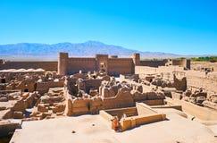 Μεσαιωνικό Rayen Castle, Ιράν στοκ εικόνα
