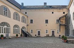 Μεσαιωνικό Uzhhorod Castle, Ungvar, στην Ουκρανία Στοκ Φωτογραφίες